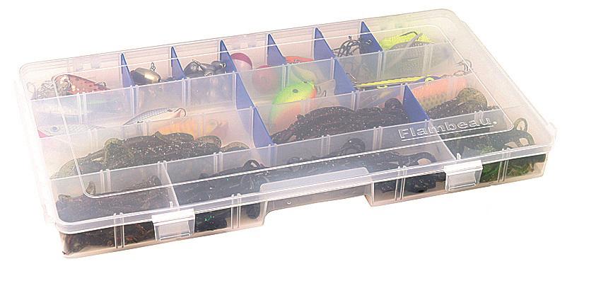 Коробка рыболовная Flambeau Tuff Tainer Zerust, 40,6 х 22,5 х 3,8 см
