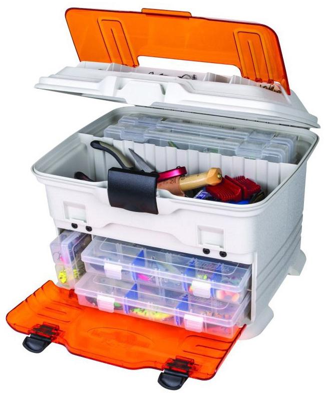 Ящик рыболовный Flambeau Multiloader Pro Zerust, с 3 коробками ящик рыболовный flambeau t4p multiloader pro zerust 6310tb