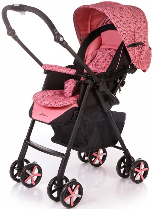 Jetem Коляска прогулочная Graphite цвет розовый