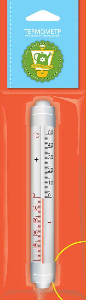 """Термометр оконный """"Garden Show"""", с креплением, 3 х 2,2 х 20 см"""