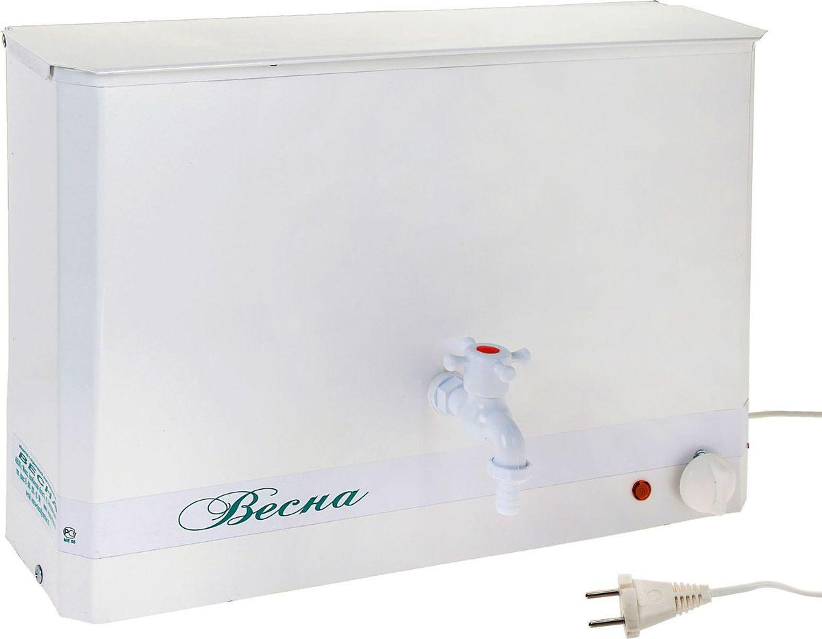 Умывальник Весна, с электроводонагревателем, цвет: белый, 15 л Уцененный товар (№3)