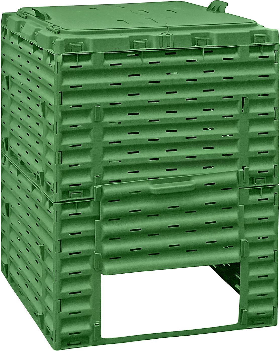 Расширитель садового компостера Piteco, цвет: зеленый, 300 л биотуалет piteco 905
