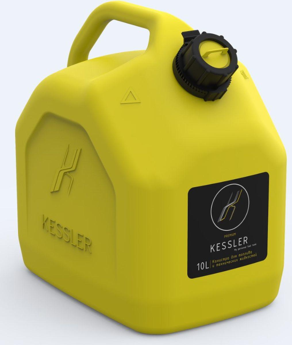 Канистра для топлива Kessler Oktan Premium, 10 л10.01.02.00-7Пластиковая канистра для топлива и технических жидкостей. Выполнена из утолщённого пластика, имеет крышку со встроенным заливным носиком. Рекомендована для использования в экстремальных условиях (грязь, вода, снег, жара и мороз).Объем: 10 л. Рекомендуем!