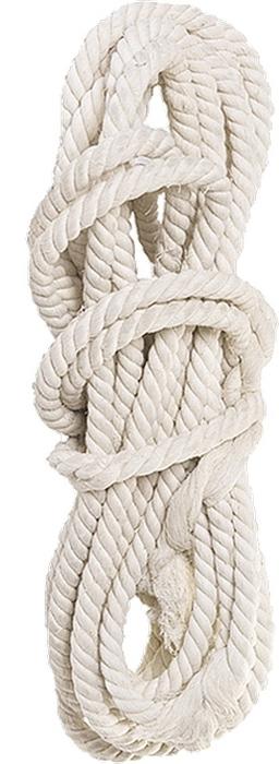Веревка хлопчатобумажная Сибртех, крученая, D 10 мм, L 11 м, 211 кгс цена