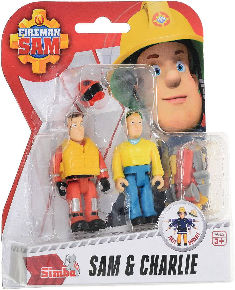 Dickie Toys Набор фигурок Sam & Charlie dickie toys набор машинок car trailer 5 шт