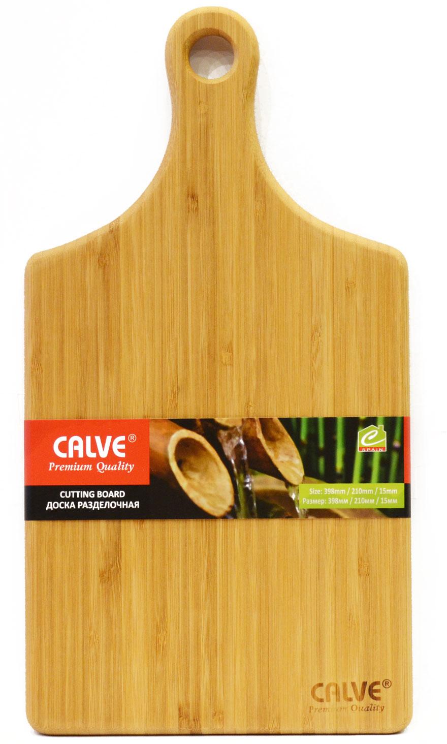 Доска разделочная Calve, деревянная, 39,8 х 21 х 1,5 см яйцерезка calve
