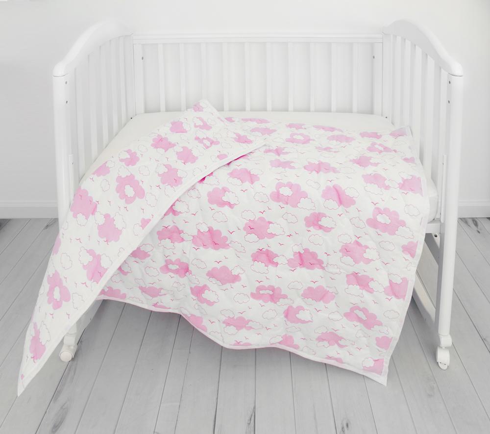цена Споки Ноки Одеяло детское цвет розовый 105 х 140 онлайн в 2017 году