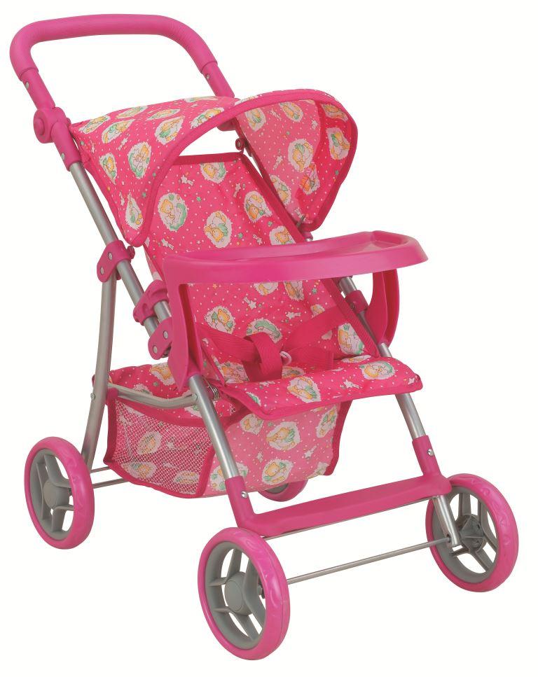 Транспорт для кукол Buggy Boom Коляска для кукол 8232A Skyna (Скайна), розовый, темно-розовый