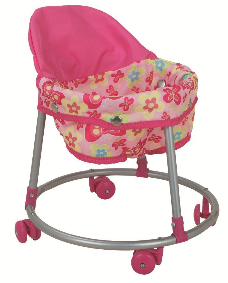 Аксессуар для кукол Buggy Boom (Багги Бум) Ходунки для кукол 8779 Loona (Луна), розовый, светло-розовый цена 2017