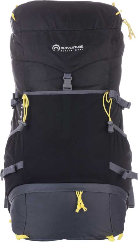 """Рюкзак Outventure """"Hiker"""", цвет: черный, 45 л"""