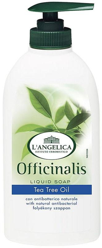 L'angelica Жидкое мыло антибактериальное с экстрактом мелалеука, 300 мл