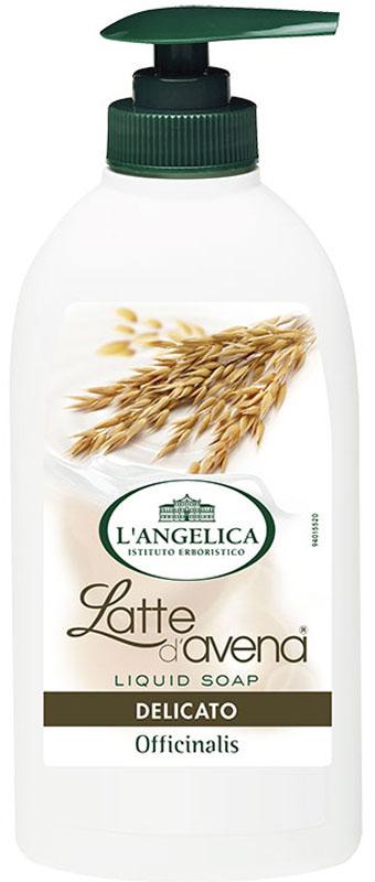 L'angelica Жидкое мыло смягчающее с экстрактом овса, 300 мл