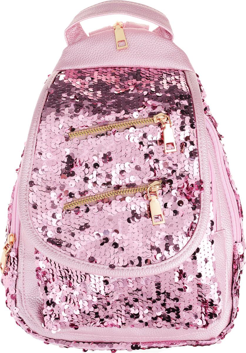 697be3744a7e TipTop Рюкзак с пайетками Изабелла цвет розовый — купить в интернет-магазине  OZON.ru с быстрой доставкой