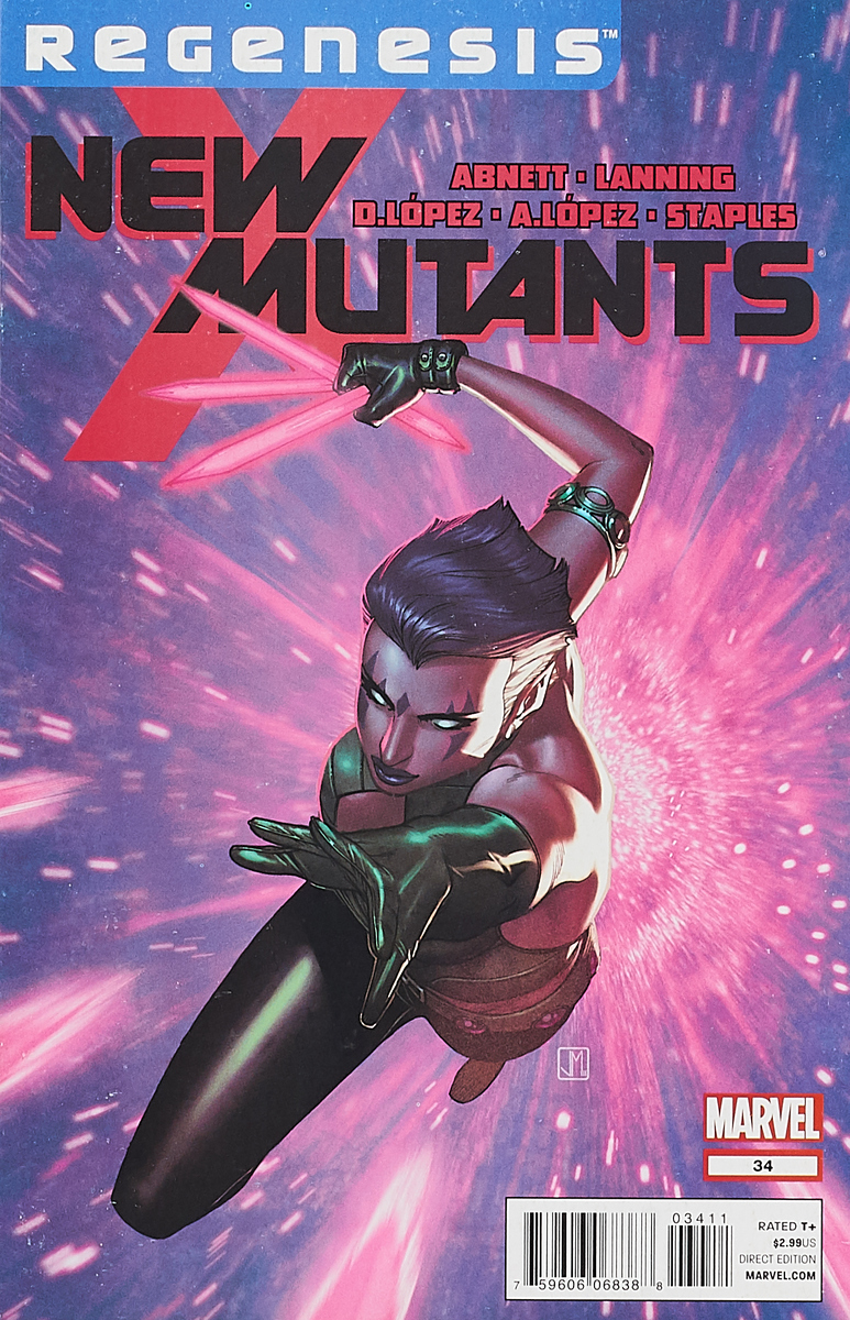 Dan Abnett, Andrew (Andy) Lanning New Mutants #34 jackie braun their unfinished business