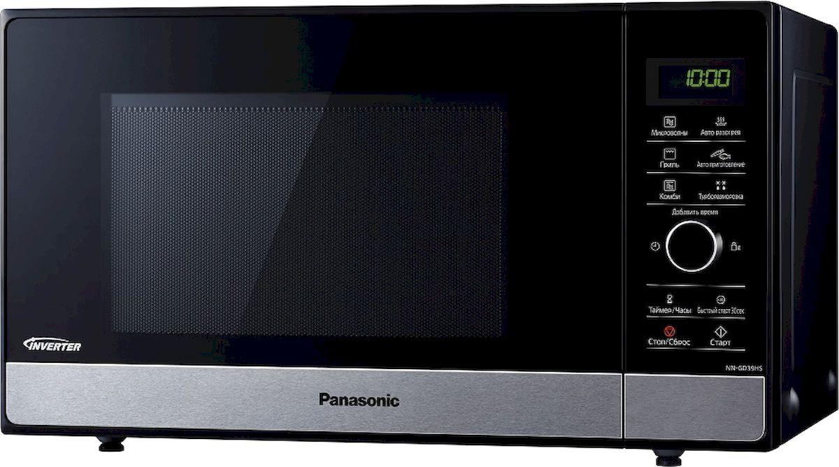 Микроволновая печь Panasonic NN-GD39HSZPE, Black