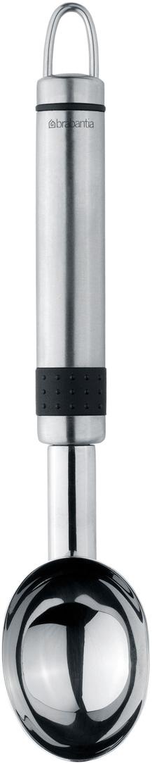 Ложка для мороженого Brabantia Profile, цвет: стальной матовый. 312304 ложка для мороженого sambonet artur krupp цвет серебряный 62613 57