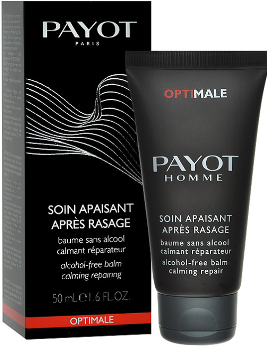 PayotБальзам после бритья, успокаивающий, без парабена, 50 мл Payot