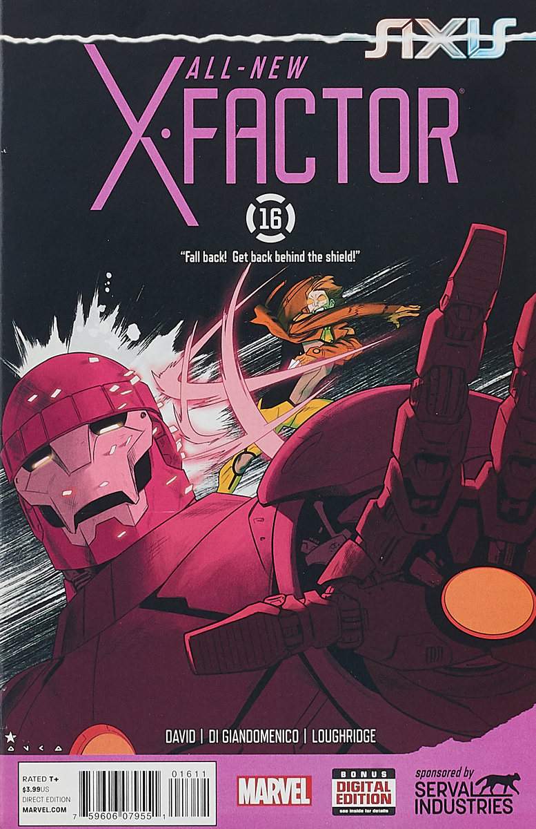 Peter David, Carmine Di Giandomenico, Lee Loughridge All-New X-Factor #16