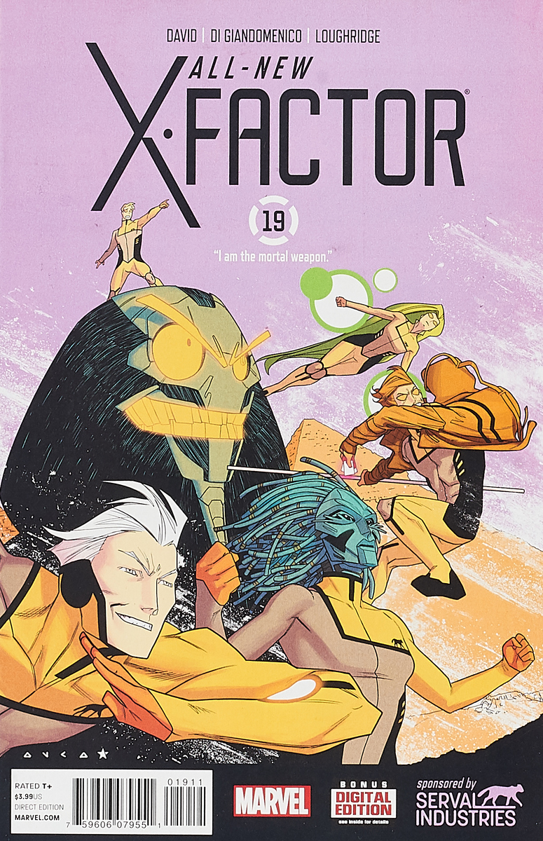 Peter David, Carmine Di Giandomenico, Lee Loughridge All-New X-Factor #19