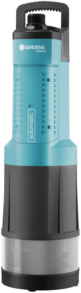 Насос погружной Gardena 6000/5 Comfort, автоматический набор фитингов для подключения насоса 1