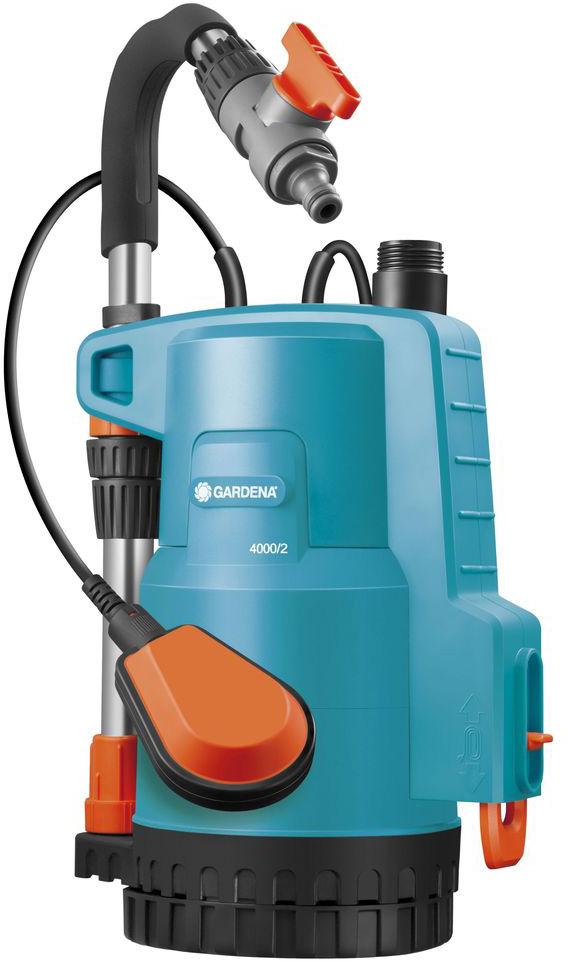 Насос Gardena 4000/2 Classic, для резервуаров с дождевой водой набор фитингов для подключения насоса 1