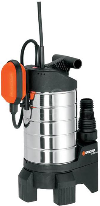 Насос дренажный Gardena 20000 inox Premium, для грязной воды набор фитингов для подключения насоса 1