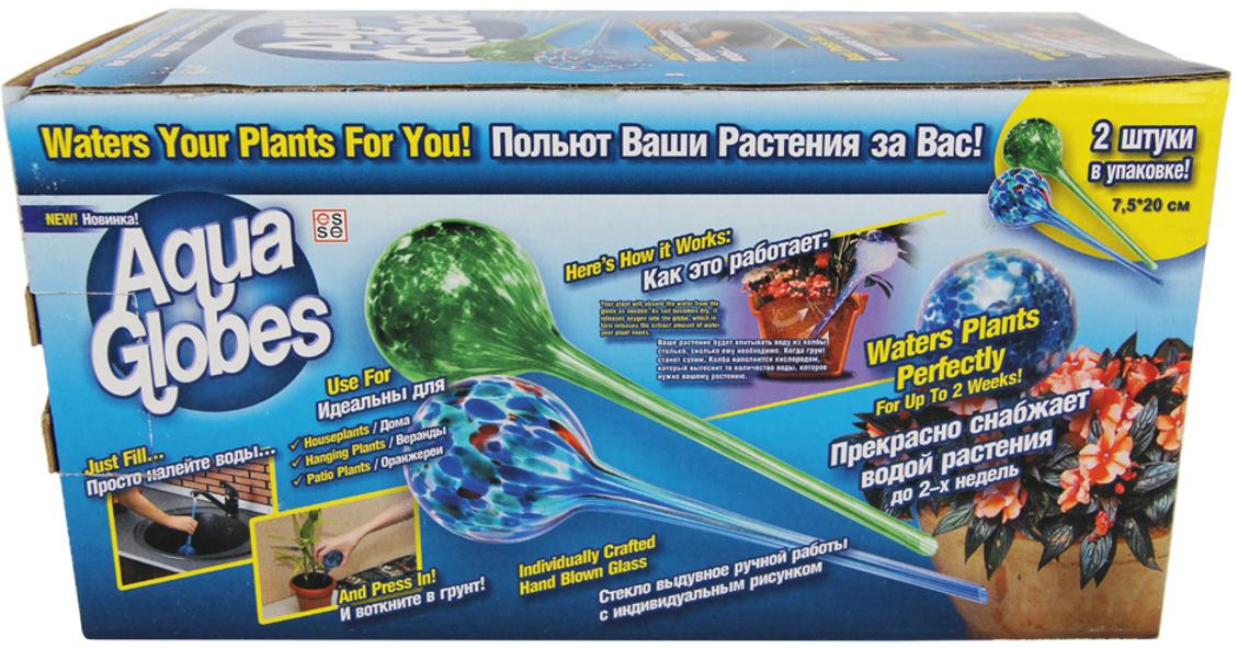 цена Колба Masterprof Aqua Globes, для автополива, длина 20 см, 2 шт
