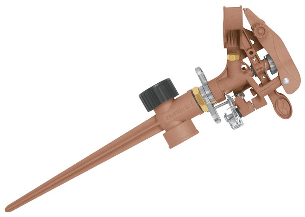 Ороситель водяной Truper, двусторонний, на пике ороситель импульсный truper 25 4 мм