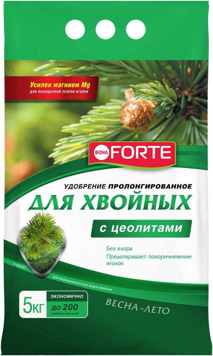 Удобрение Bona Forte, хвойное, с цеолитом, 5 кгBF-23-01-030-1Удобрение пролонгированное с цеолитами для елей, сосен, кипарисов, тиса, кедра, можжевельника, туи, пихты, лиственницы и других хвойных растений. Препятствует покоричневению хвои, поддерживает зеленый цвет иголок, стимулирует рост и развивает корневую систему. Без хлора! Удобрения дополнительно обогащены ЦЕОЛИТОМ, который имеет уникальные полезные свойства: - удерживает влагу и питательные вещества в корнеобитаемой зоне растений; - снижает стрессы растений при посадке и пересадке; - обеспечивает оптимальный воздушный режим даже при максимальном насыщении грунта водой; - делает удобрения пролонгированными. Cрок годности: 5 лет. Температура хранения: -40 до +50 С . Уважаемые клиенты! Обращаем ваше внимание на возможные изменения в дизайне упаковки. Качественные характеристики товара остаются неизменными. Поставка осуществляется в зависимости от наличия на складе.