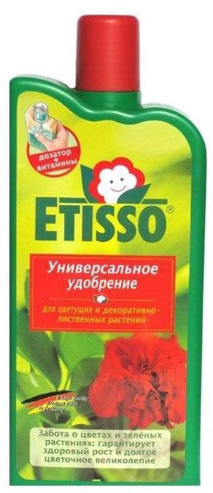 Универсальное жидкое удобрение Etisso для цветущих и декоративно-лиственных растений, 500 мл удобрение для декоративно лиственных растений 285 мл