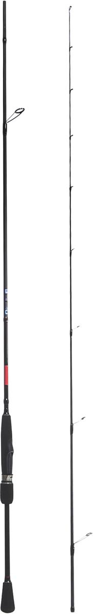 Удилище спиннинговое Salmo Elite MICRO JIG, штекерное, 1-6 г, 2,32 м