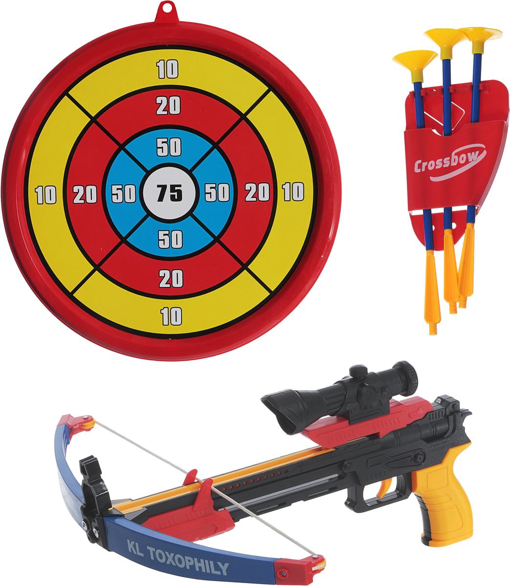 Toy Target Игровой набор Арбалет со стрелами 1 toy детский игровой набор доктор арт т56708