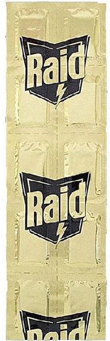 Пластины от комаров RAID, регулярные, 10 шт