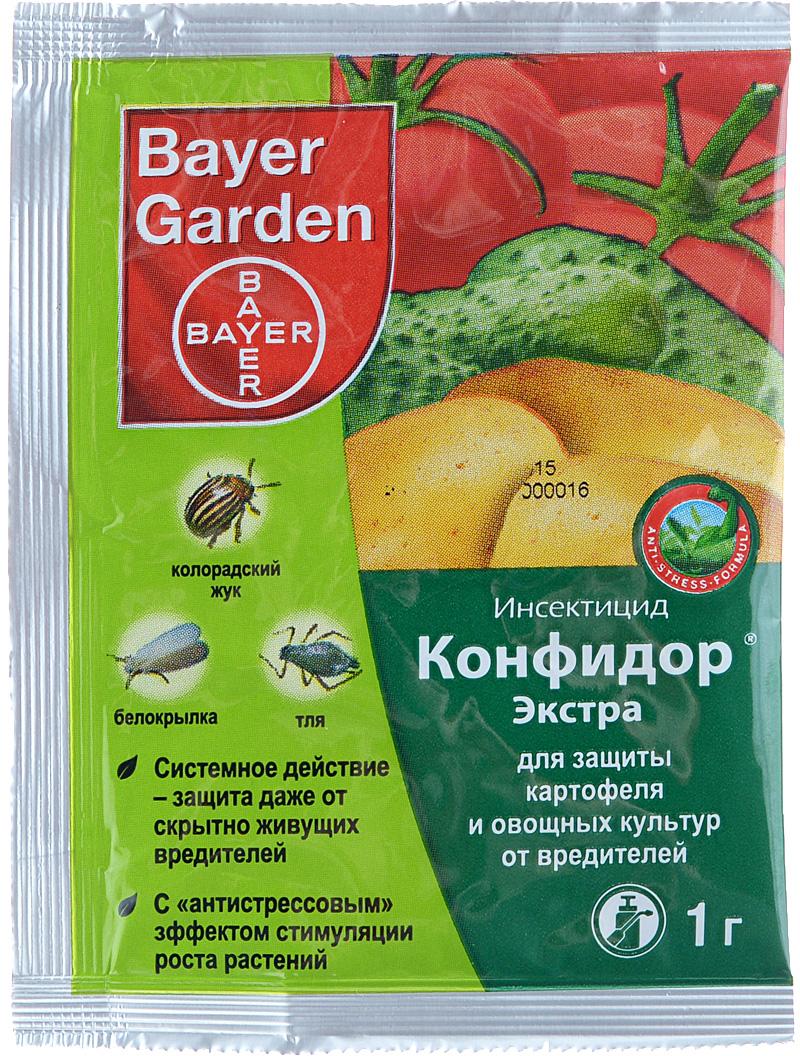 Инсектицид Bayer Garden Конфидор Экстра, для защиты картофеля и овощных культур от вредителей, 1 г цена