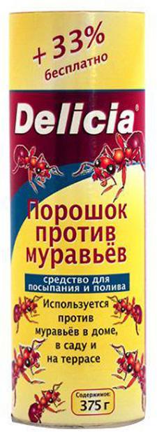 Порошок против муравьев Delicia 375 г .