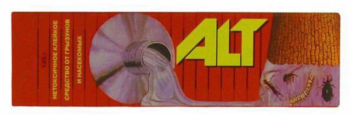 Клейкое средство от грызунов и насекомых ALT, 135 г control alt delete