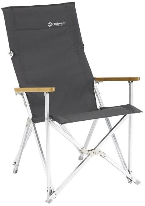 цена на Кресло складное Outwell Duncan, цвет: серый, 55 х 66 х 92 см