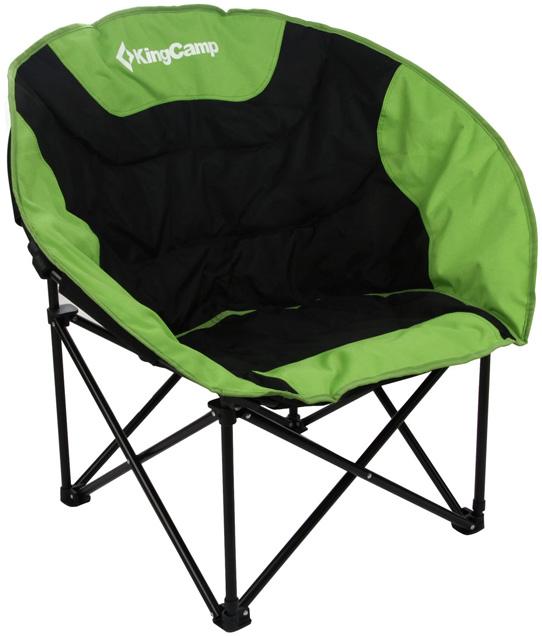 Кресло складное KingCamp Moon Leisure Chair, цвет: зеленый кресло складное kingcamp moon leisure chair цвет синий