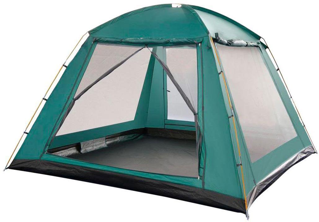 Тент Greenell Норма, цвет: зеленый палатка greenell виржиния 6 плюс green
