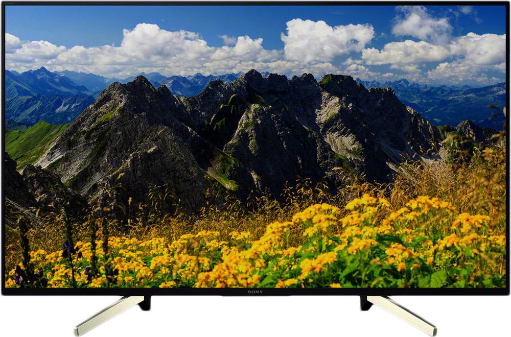 Телевизор Sony KD-43XF7596BR 43, черный телевизор sony kd49xf9005br2 черный