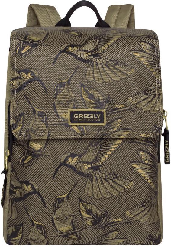 Рюкзак городской Grizzly, цвет: бежевый. RD-831-1/2 цена