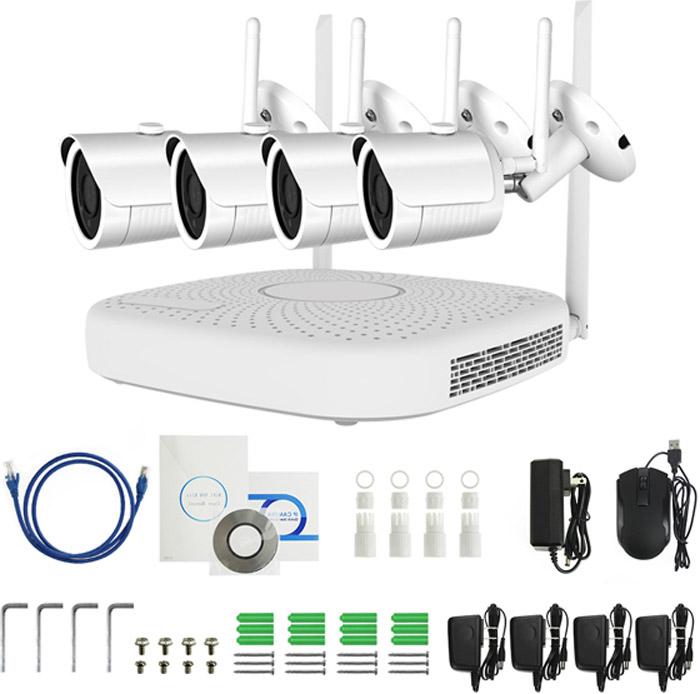 IVUE W5004-720-B4, White система видеонаблюдения ivue clever dog 6w white камера видеонаблюдения
