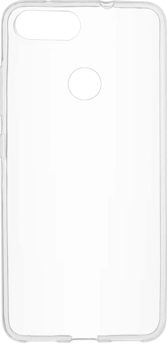 цена на Чехол Skinbox Slim Silicone для ASUS ZenFone Max Plus (M1), Transparent