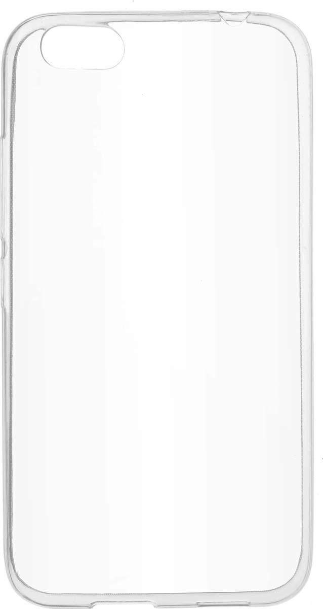 Skinbox Slim Silicone чехол для Prestigio Grace M5, Transparent цена и фото