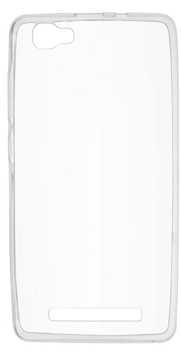 Skinbox Slim Silicone чехол для Prestigio Grace P5, Transparent цена и фото