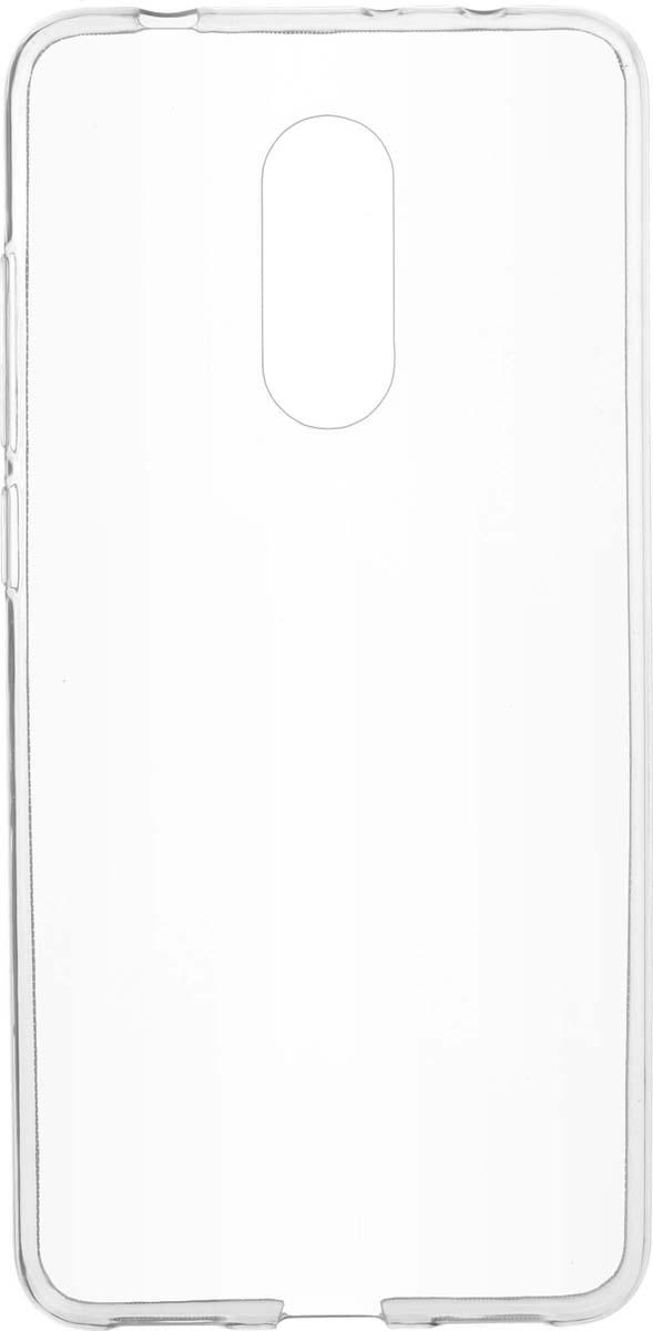 Чехол Skinbox Slim Silicone для Xiaomi Redmi 5, Transparent чехол skinbox xiaomi redmi note 3