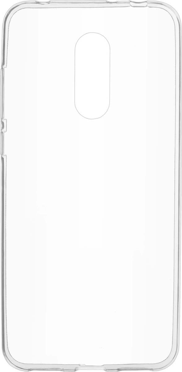 Чехол Skinbox Slim Silicone для Xiaomi Redmi 5 Plus, Transparent