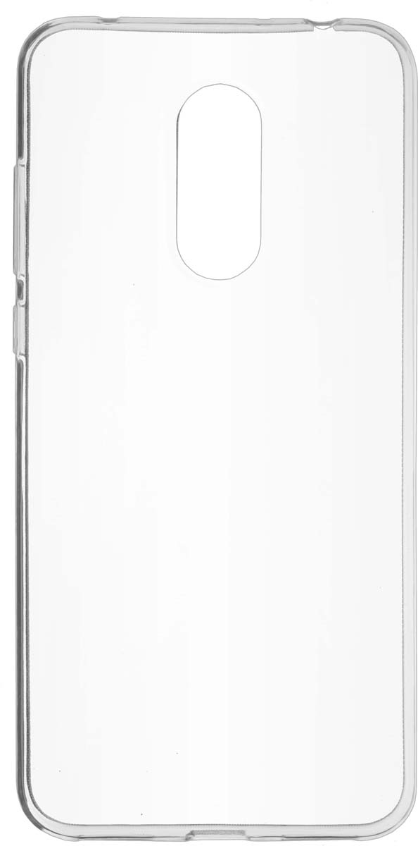 Skinbox Slim Silicone чехол для Xiaomi Redmi Note 5, Transparent