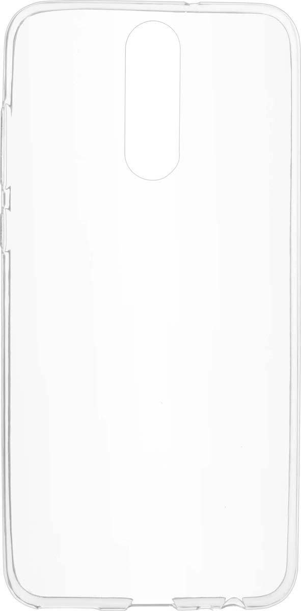 Чехол Skinbox Slim Silicone для Huawei Nova 2i, Transparent аксессуар чехол для huawei nova 3 2018 zibelino ultra thin case transparent zutc hua nova3 wht