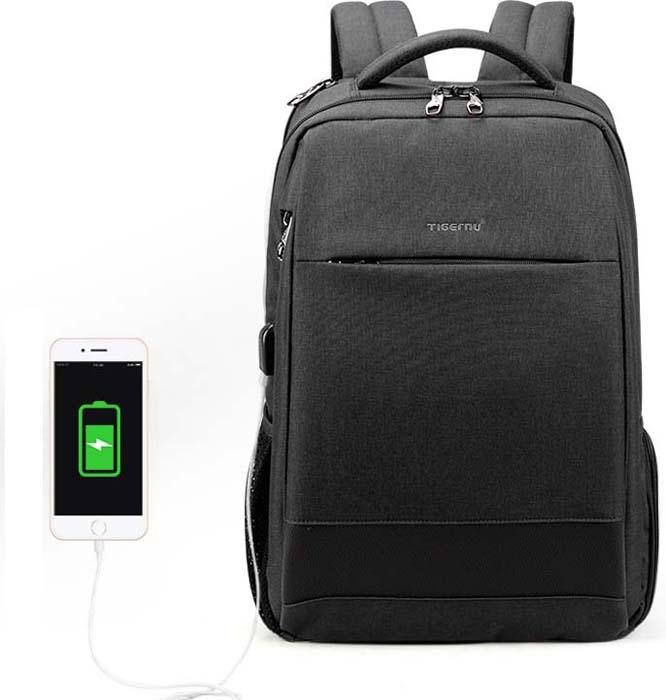 Tigernu T-B3516 Dark Grey, рюкзак для ноутбука 15,6 15 6 рюкзак для ноутбука tigernu t b3221 темно серый